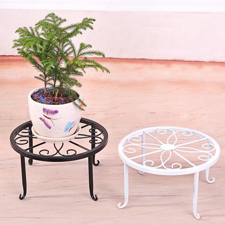 Tianqi european single flower landing iron flower indoor - Decoration metal pour jardin ...
