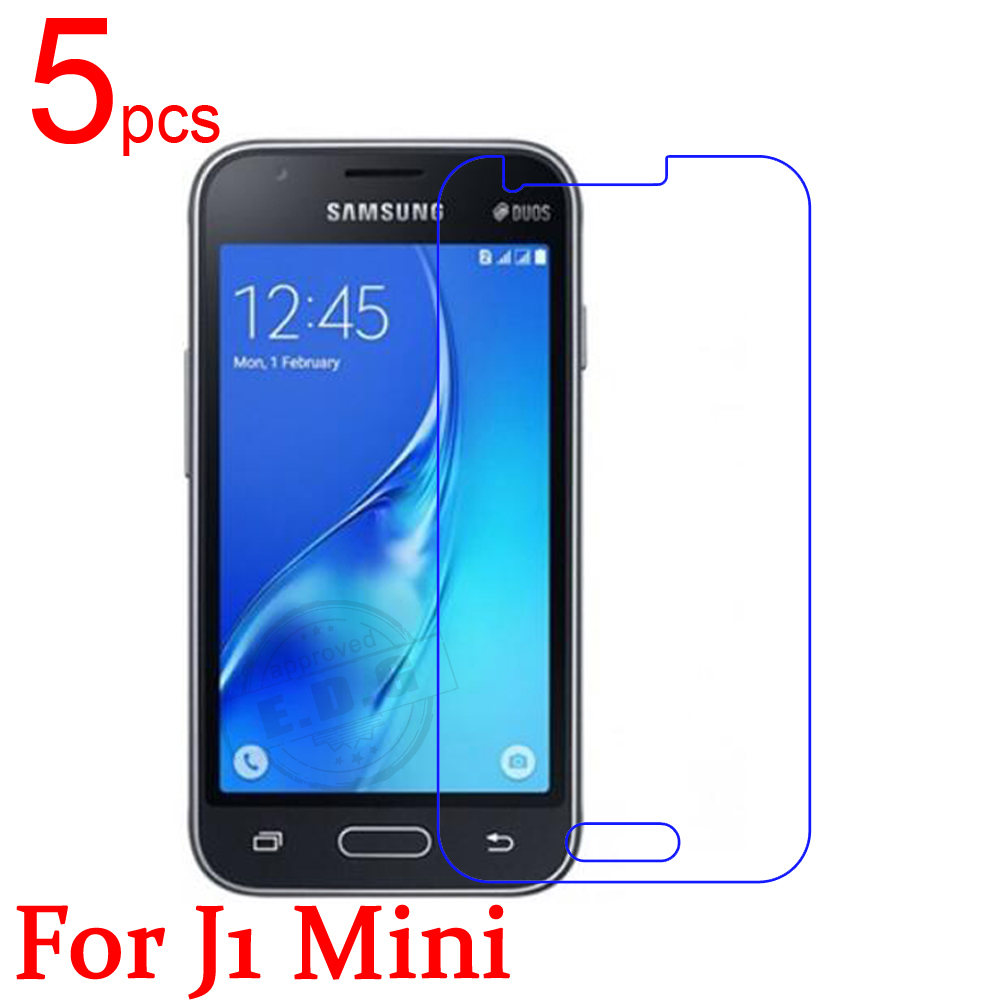 5pcs Glossy Matte LCD Screen Protector Guard Cover Protective Film For samsung GALAXY J1 Mini J1