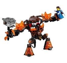 LEPIN Nexo Knights Infernox Captures Queen Combination Marvel Building Blocks Kits Toys Minifigures Compatible Legoe Nexus - Cy Super store