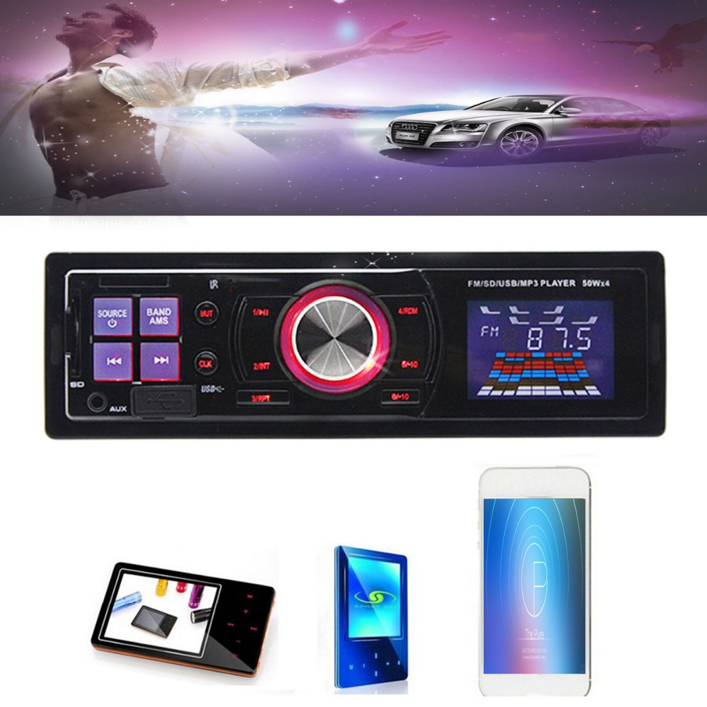 2015 Brand New Universal Stereo Head Unit Car Auto FM SD Card USB MP3 Player Radio