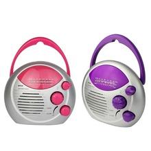 IPX4 Waterproof Radio Mini Shower Radio Bathroom FM/AM Hanging Music Radio Multiband Y4389Z(China (Mainland))