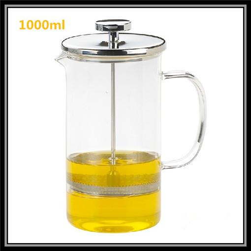 Italian Glass Coffee Maker : Aliexpress.com : Buy Hot sale Drinkware! French Press Coffee Maker Brewing Tea Plunger Pot ...