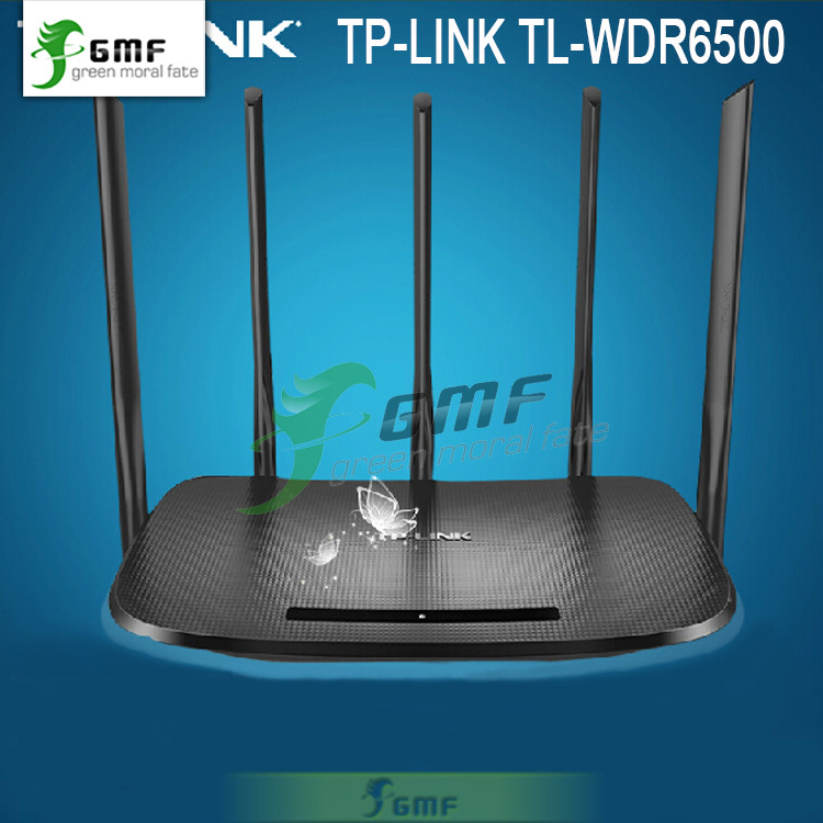 TP-LINK Wireless Wifi Router AC TL-WDR6500 1300Mbps 1 WAN 4 LAN 2 USB 2.4GHz+5GHz 802.11ac/b/n/g/a/3/3u/3ab for Family/SOHO(China (Mainland))