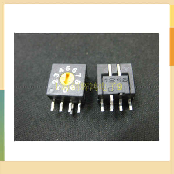Vertical coding switch the 0-9 digital switch side 4 to 14 1 coding switch(China (Mainland))