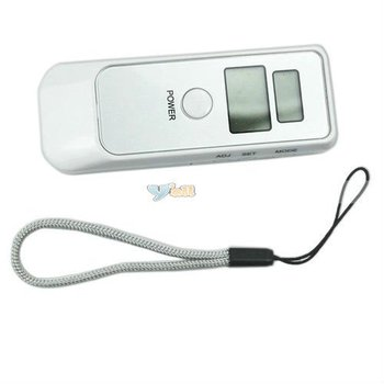 Detector Dual LCD Display Digital Alcohol Tester And Timer Analyzer Breathalyzer Free Shipping - B00047
