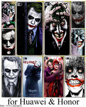 Buy Joker Batman Killing Joke Black Hard Transparent Case Cover Huawei P6 P7 P8 P9 Lite Plus & Honor 6 7 4C 4X G7 Case Cover for $1.07 in AliExpress store