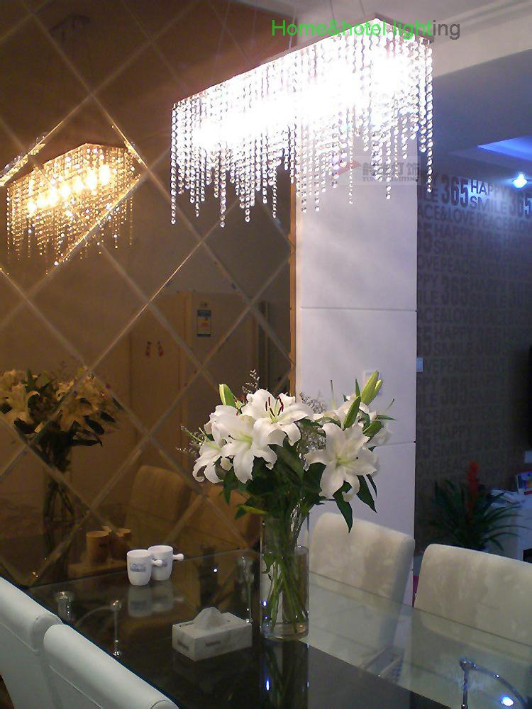 Fashion modern crystal chandelier for dining room modern - Lamparas de techo para comedor ...