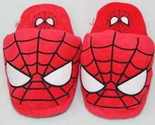 Deadpool Superhero Batman Superman Spiderman Brinquedos de Pelúcia Dos Desenhos Animados Casa de Inverno Interior Sapatos Macios Brinquedos de Pelúcia Chinelos Em Casa Moda(China)