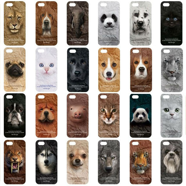 Animal Series Hard PC Case Cover Apple iPhone 5 5S 5G - casualsel store