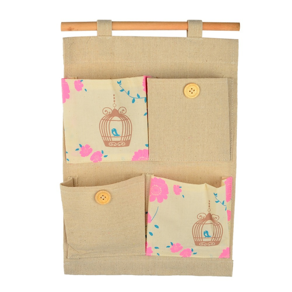 Buy 4 pocket vintage cute storage bag Ideas for hanging backpacks