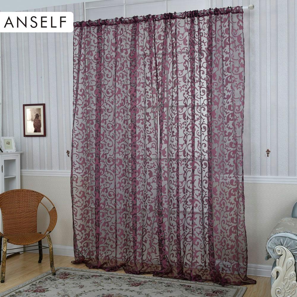 Elegantes cortinas de la ventana compra lotes baratos de for Cortinas de castorama pura