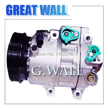 Buy auto ac compressor car HYUNDAI SANTA FE II CM 2.7 V6 GLS 2006, 4X4 2006 F500-MA5AB-07 F500-DC4BA-01 F500-MA5AA-05 for $130.50 in AliExpress store