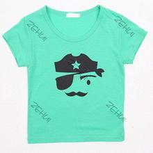 Fashion Baby Clothes Boy Kid Casual Round Neck Short Sleeve T shirt Tee Tops Apparel Drop