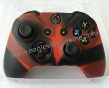 Camouflage silicone protective case for xbox one controller silicone rubber gel(China (Mainland))