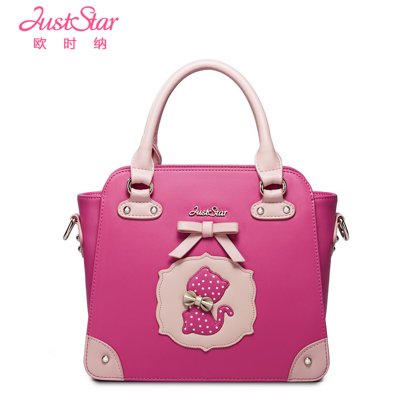 Women's Handbag 2014 Young Girl Bags Messenger Bag Sweet Print  -  Brand handbags net store
