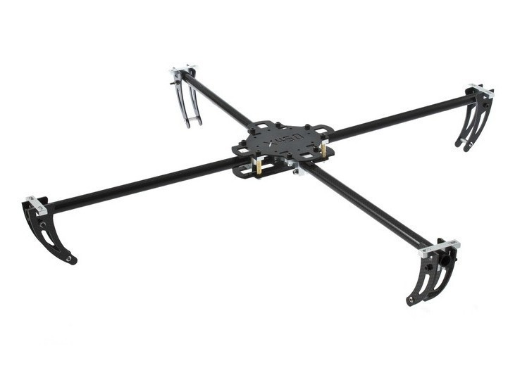 2Pcs X450 3D Carbon fiber frame Four rotor Four axis aircraft 4 axis QuadCopter Aircraft  frame aircraft parts for diy Xcopter