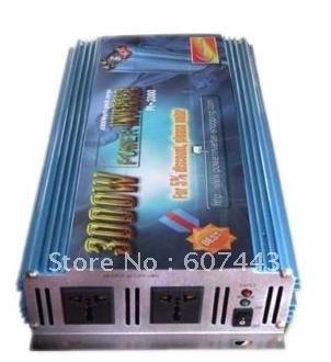 6000w MAX 3000w modified sine wave power inverter 12v/230v ONE YEAR WARRANTY