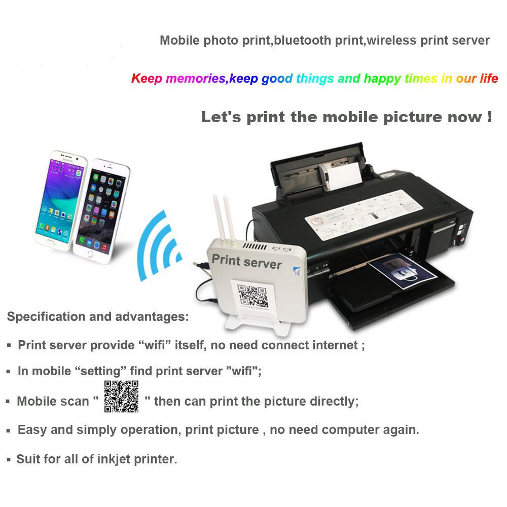 Mobile photo print,bluetooth print,wireless print server(China (Mainland))