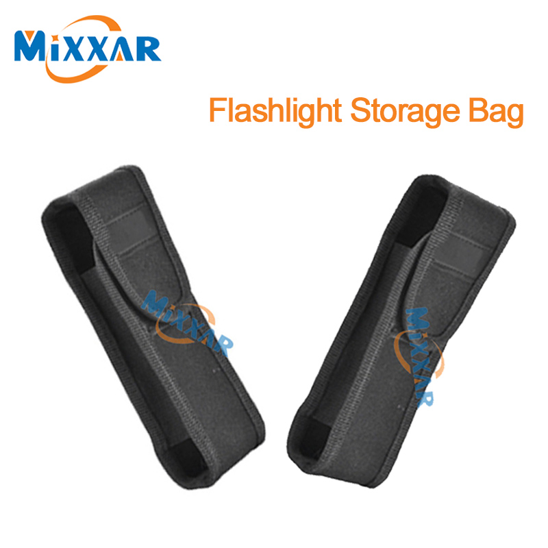 zk90 New Arrival Black Dustproof Storage Bags For Flashlight Holster Pouch Torch Cover Protective Holder(China (Mainland))
