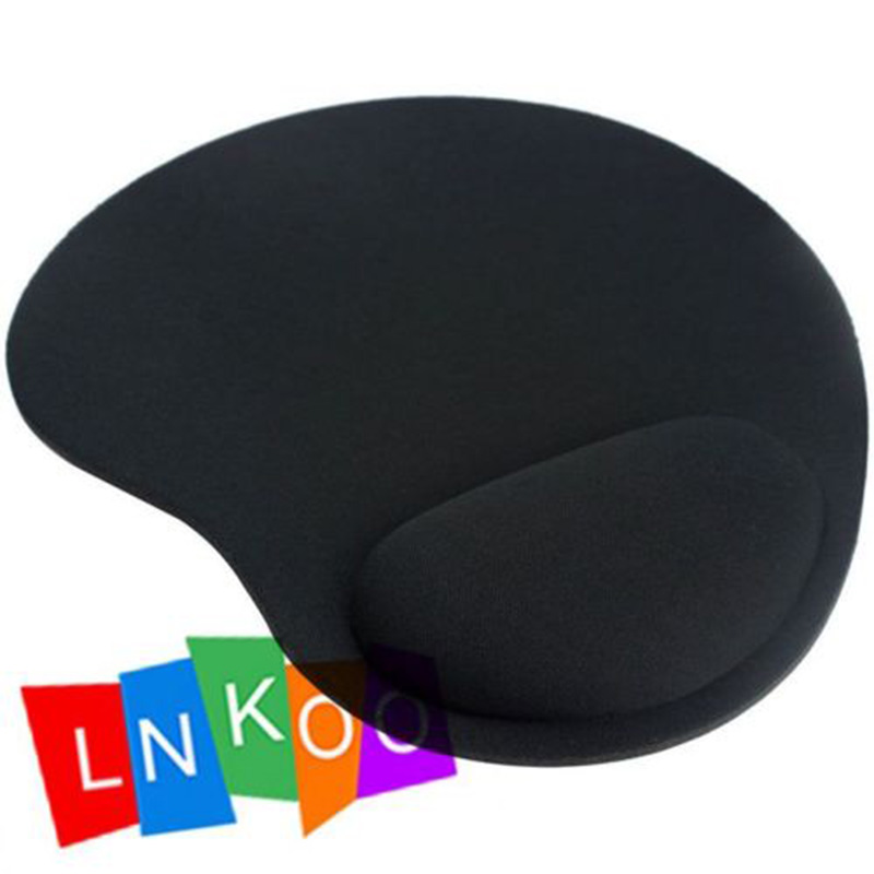 Mouse Mat Mice Pad Durable Soft Support Wrist Comfortable Thin Black New - LNKOO999 store