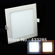 Free shipping 3w/4W/6W/9W/12W/18W led panel lighting ceiling light DownlightAC85-265V , ,Warm /Cool white,indoor lighting(China (Mainland))