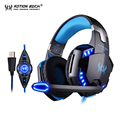 KOTION EACH G2200 Gaming headphones Headphone gamer headsets 7 1 Headphone Earphone headphones with LED light