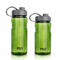 Sports Water Bottle 800ml 1000ml Plastic Space Cup Young Bike Outdoor Climbing Camp Powder Shaker Bottle