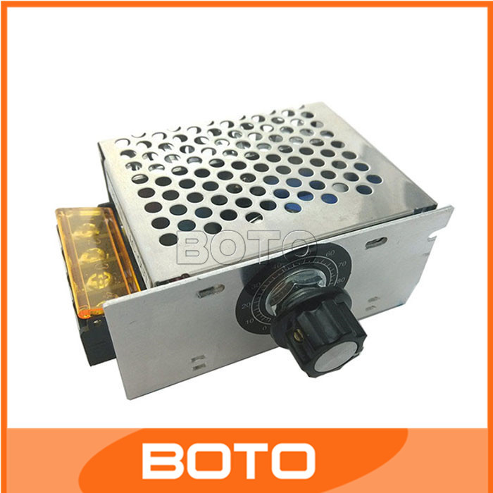 4000w 220v Ac Scr Electric Voltage Regulator Motor Speed