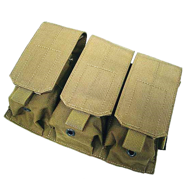Nylon Molle Tactical Triple Magazine Pouch Outdoor Hunting Accessories Mag Bag Military Amry Magainze Holder - UNITEWIN Innovate Army Equipment store