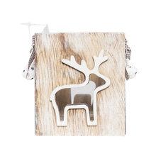 חג המולד מתנה יצירתית קישוט מיני עץ שמשה קדמית פמוט עיצוב הבית 2018 חדש הגעה מכירה לוהטת(China)