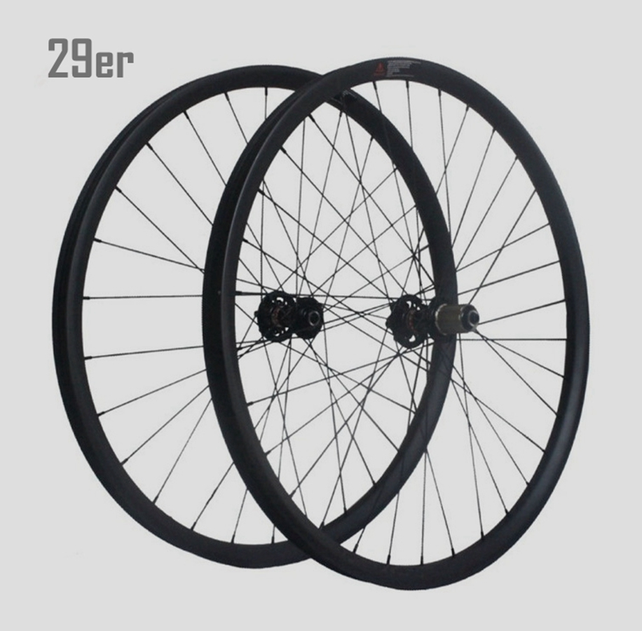 New development hand build mtb wheelset 29er 40mm carbon for Making bicycle wheels