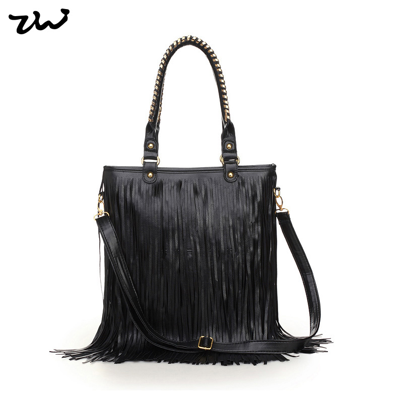 4 Colors Vintage Tassel Bag Fashion Crossbody Bags Stylish