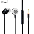 M J Portable Mini Stereo Bass Earphone For iPhone 5 6 Samsung Mobile Phone With Microphone