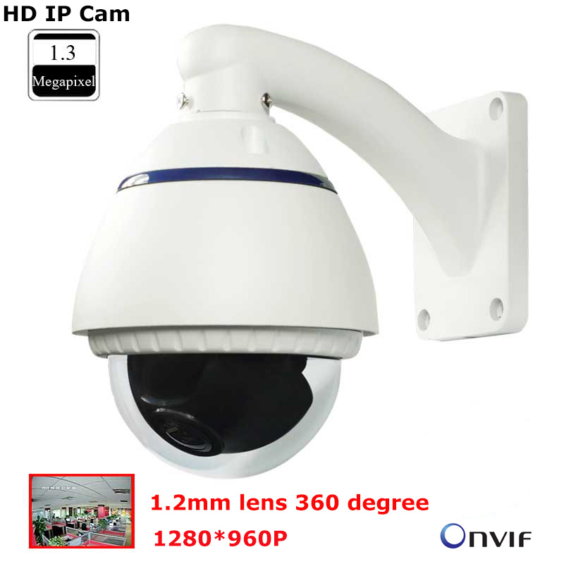 Panoramic 360 degree IP Camera 1280*960p HD Dome Camera IP Cam Fisheye Outdoor Waterproof Onvif Network camera P2P 1.5mm lens(China (Mainland))