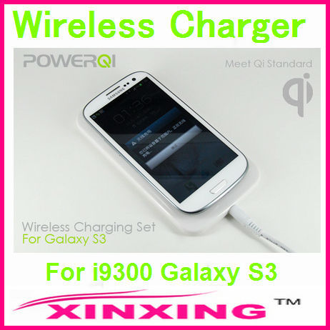 Qi Wireless for Samsung i9300 Galaxy S3 Charger Charging Pad + Charge Adapter + Receiver Case Free shipping