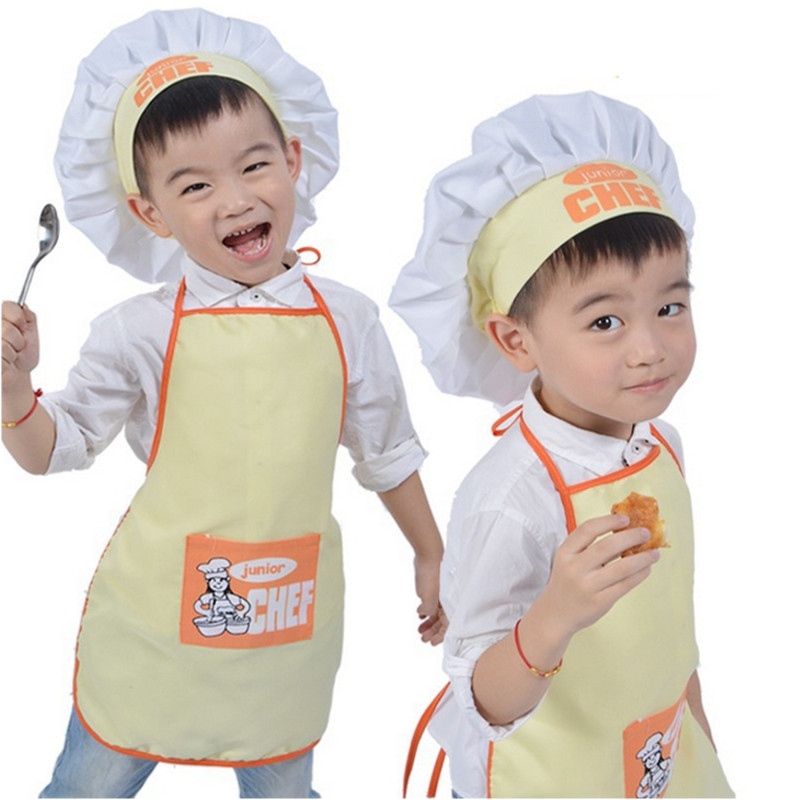 Dabbing Unicorn Kids Chefs hat and apron set
