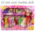 Free shipping dresses for dolls 12 sets suit Interactive Dolls present to girl good toy