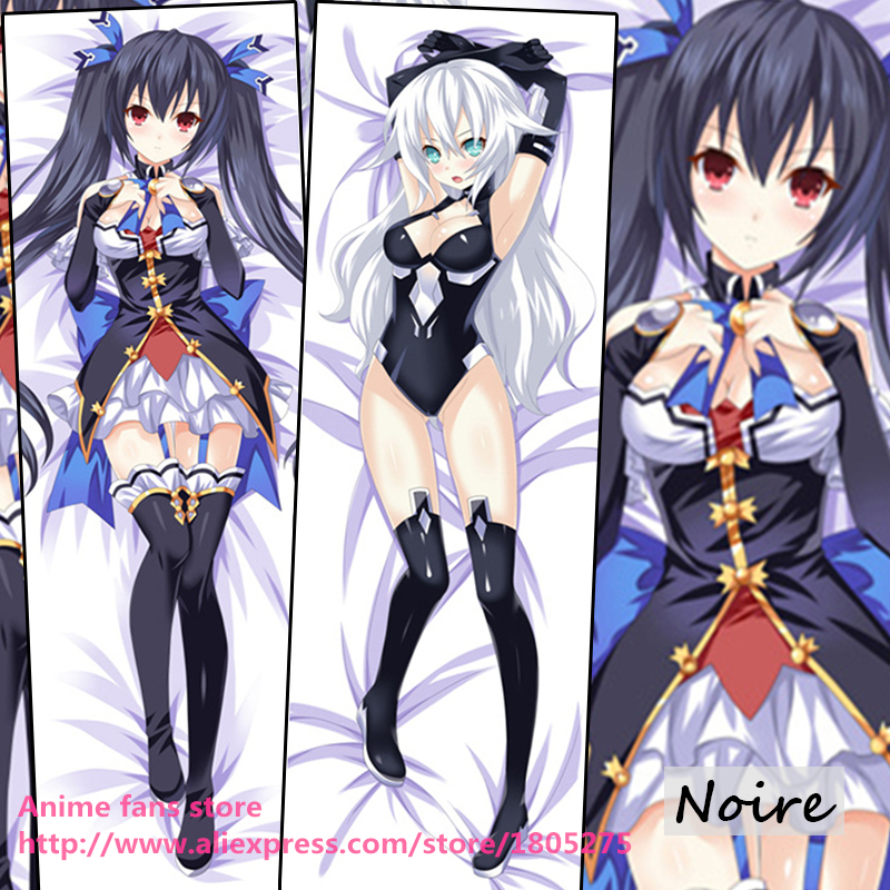 Hot Anime GAME Hyperdimension Neptunia Noire Pillowcase decorative Hugging Body Pillow Case Bedding - fans store