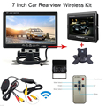 7 TFT LCD Truck Car Rear view Parking Monitor 12 24V Auto Rearview Backup Reverse Camera