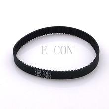 1pcs/lot 180-GT2 loop timing belt width 6mm GT2 belt Rubber Fiberglass inner length 180mm 90teeth for 3D Printer(China (Mainland))