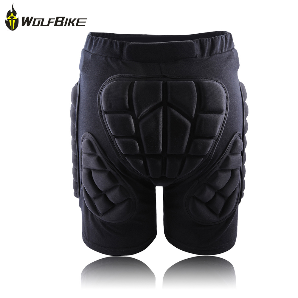 WOLFBIKE Winter Outdoor Sports Skiing Shorts Protective Hip Padded Shorts/Bottom Padded Amour for Ski Snow Skate Snowboard(China (Mainland))