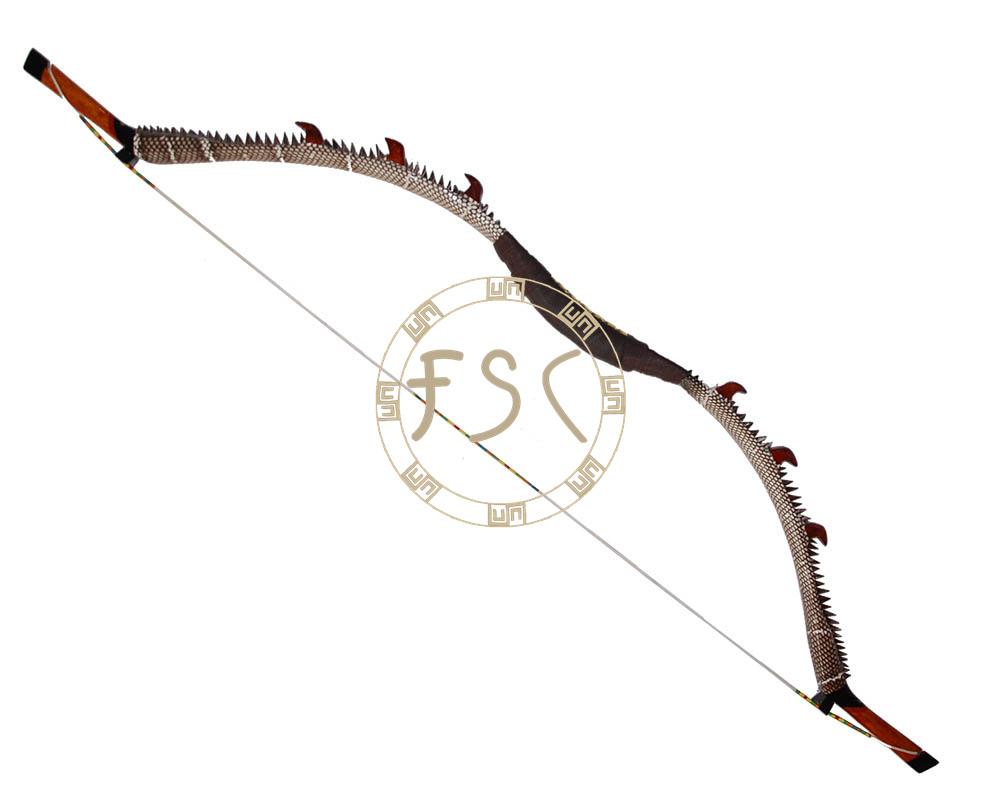 Adult hunter hunting shooting 40lbs recurve bow kirin wood glass fiber laminated Snakeskin bow and arrow