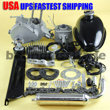 OPHIR 80cc Engine Motor Kit 2-Stroke Gasoline Engine Kit Single Cylinder for Motorized Bicycle Bike Motorcycle Accessory _MR001S