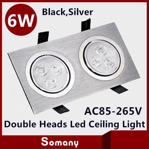 Hot sale 6w led ceiling lights concealed installatio black - Concealed led ceiling lights ...
