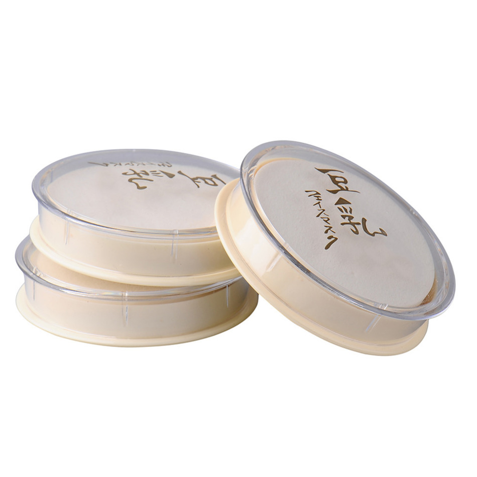 Soy Milk Natural Color Pressed Powder Sunscreen Face Silty Light Delicate powder Beauty Makeup Cosmetic Smooth Loose Face Powder