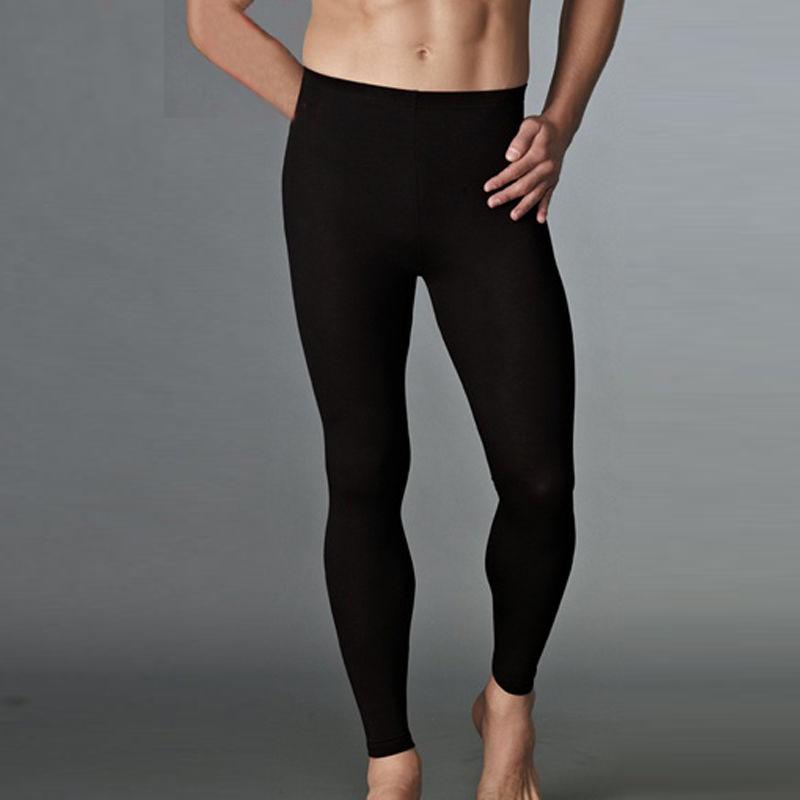 Spring Men thermal Underwear Inner Wear Compression Long Pants Winter Leggings TX01