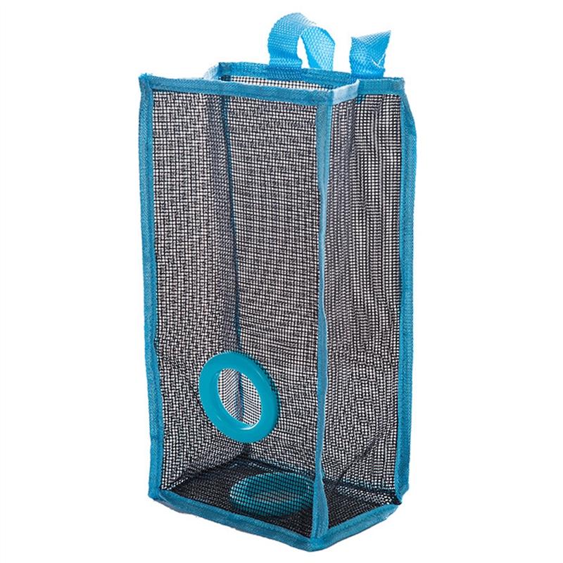 Coxeer Shopping Basket Bag Grocery Wall Bag Shopping Hanging Bagstor Trash Kitchen Dispenser Shopping Basket Trash L(China (Mainland))
