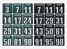 Anpassen Herren Elite Trikots Farbe schwarz grün weiß Größe M-4XL Top Qualität(China (Mainland))