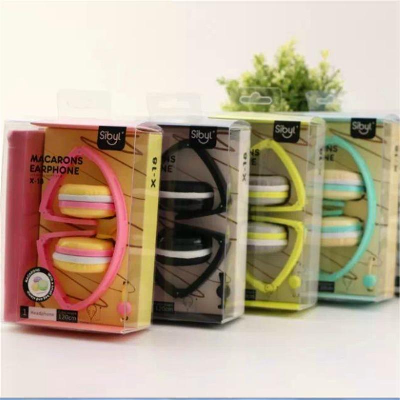 Stereo Cute font b Headphones b font Candy Color Foldable Girl font b Kids b font