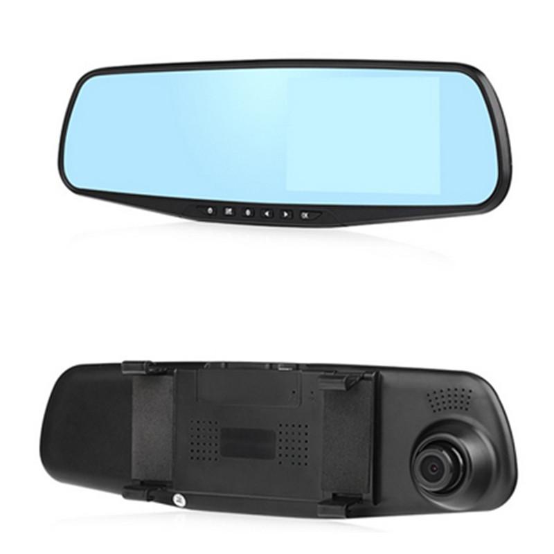 "4.3"" HD 1080P Night Vision LCD Video Recorder Mirror Parking Monitor Car Vehicle Camera CAR DVR mirror Wide Angle GI2228(China (Mainland))"